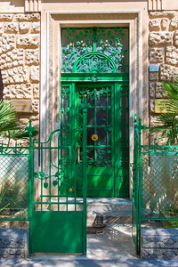 Beautiful ornate door