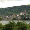 Rhine River scenery as we traveled by train from Heidelberg to Koblenz