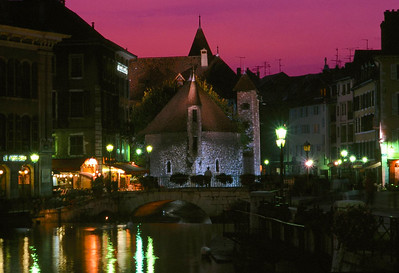 Annecy Museum at Dusk
