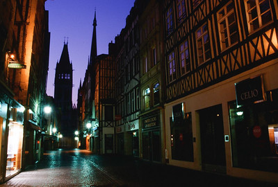 Dawn in Rouen