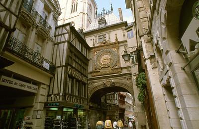 Medieval Rouen Street