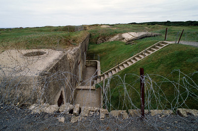 Germany Bunker on Omaha Beach