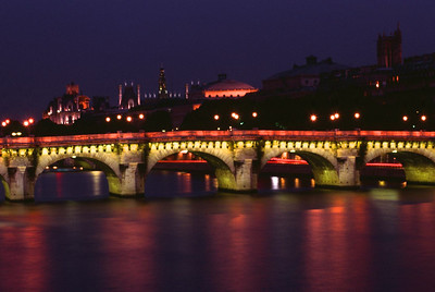 Le Pont Neuf at Dusk