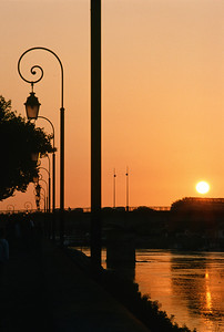 Sunset in Arles