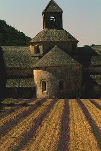 Monastery in the Lavender Fields