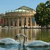 Stuttgart's Staastheater  - This is the theatre house is the center of Stuttgart
