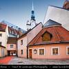 Europe - Latvia - Riga - Rīga - Capital and largest city of Latvia - Riga's historical centre - UNESCO World Heritage Site - St. Peter's Church - Svētā Pētera Evaņģēliski luteriskā baznīca - Evangelical Lutheran Church of Latvia