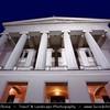 Europe - Latvia - Riga - Rīga - Capital and largest city of Latvia - Riga's historical centre - UNESCO World Heritage Site - National Opera House - Dusk - Twilight - Blue Hour - Night