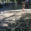 Most of the pedestrian areas in Lisbon are paved like this with very attractive designs