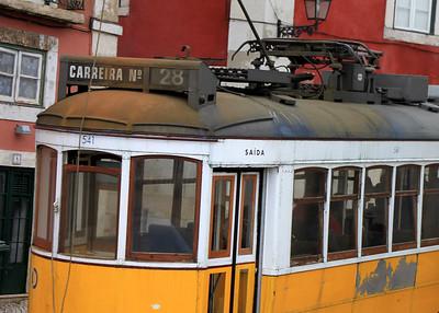 Trolley No. 28 By: Kimberly Marshall Lisbon