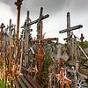 Europe - Lithuania - Lietuva - Hill of Crosses - Kryžių kalnas - Pilgrimage site 12 km north Šiauliai town