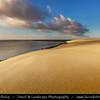 Europe - Lithuania - Lietuva - Curonian Spit - Kuršių nerija - UNESCO World Heritage Site - Sand dune spit separating Curonian Lagoon from Baltic Sea coast - Parnidis Sand Dune Natural Reserve - Lithuanian Sahara