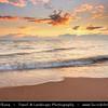 Europe - Lithuania - Lietuva - Curonian Spit - Kuršių nerija - UNESCO World Heritage Site - Sand dune spit separating Curonian Lagoon from Baltic Sea coast