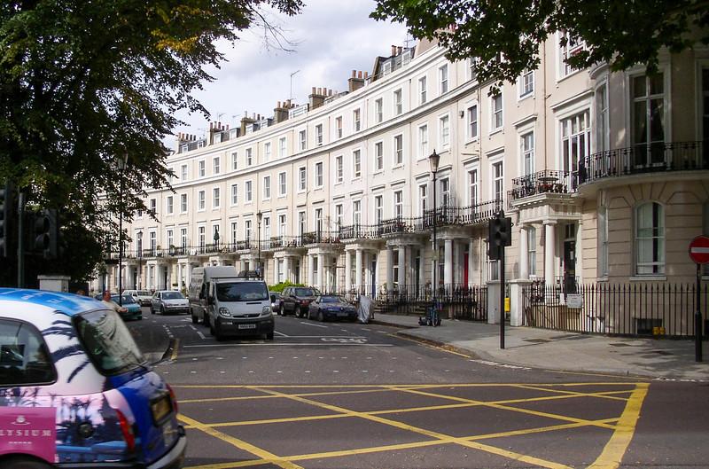 Royal Crescent in Kensington.
