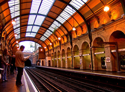 Notting Hill Gate Tube Station, London