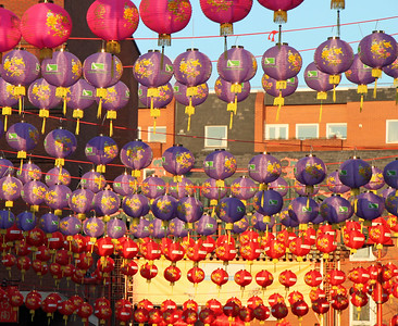 Chinatown Lanterns London By: Kimberly Marshall