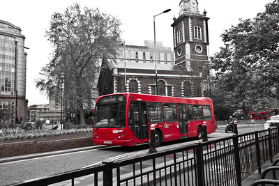 Red in London - Bus