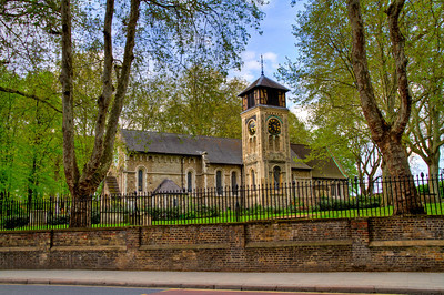 St Pancras Old Church London, England