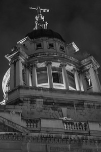 London at Night - The Old Bailey