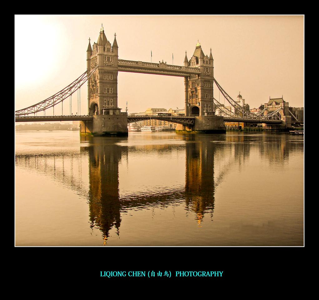 伦敦塔桥,地标建筑