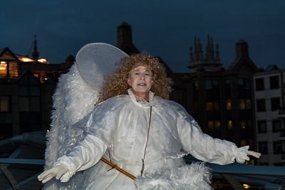 Cross-dressing Angel?