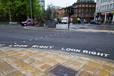Look Right London, England