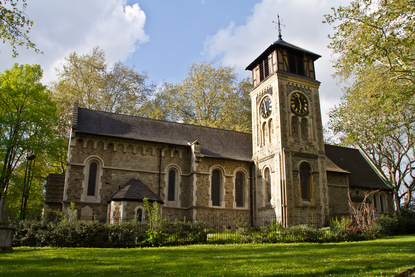 St Pancras Old Church<br /> London, England