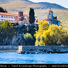 Europe - Macedonia - Monastery of Saint Naum - Манастир Свети Наум - Sveti Naum - Traditional Eastern Orthodox monastery on shores of Lake Ohrid - One of most popular tourist destinations in Macedonia