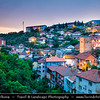 Europe - Macedonia - Kratovo - Кратово - Small historical town known for its bridges and towers, located in crater of extinct volcano on western slopes of Mount Osogovo at altitude of 600 metres (2,000 ft) above sea level