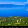 Europe - Macedonia - Galičica National Park - Ohrid Lake - Охридско Езеро - Ohridsko Ezero - UNESCO World Heritage Site - One of Europe's deepest & oldest lakes - Largest & most beautiful out of Macedonia's three tectonic lakes