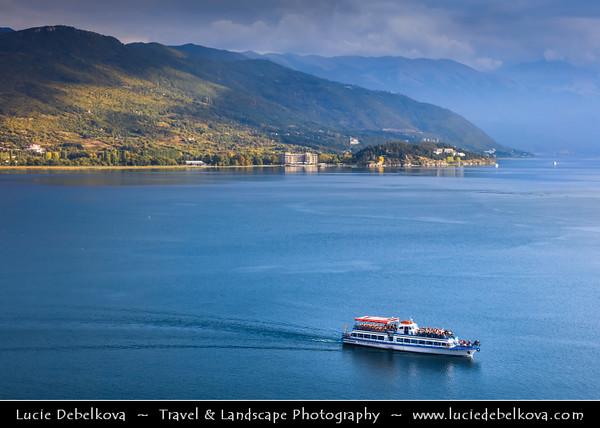 Europe - Macedonia - Ohrid Lake - Охридско Езеро - Ohridsko Ezero - UNESCO Natural World Heritage Site - One of Europe's deepest & oldest lakes preserving unique aquatic ecosystem