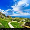 Europe - Macedonia - Treskavec Monastery - St. Bogorodica, built in 12th century on rocky Mount Zlatovrv, 8 km north of Prilep town