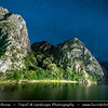 Europe - Macedonia - Matka Canyon - Кањон Матка - One of most beautiful gorges in region located west of central Skopje & One of most popular outdoor destinations in Macedonia - Night Sky with Stars