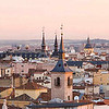 Internet photo with an aerial view of Madrid