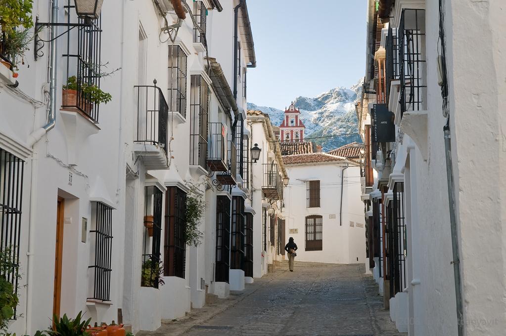 The streets of Grazalema