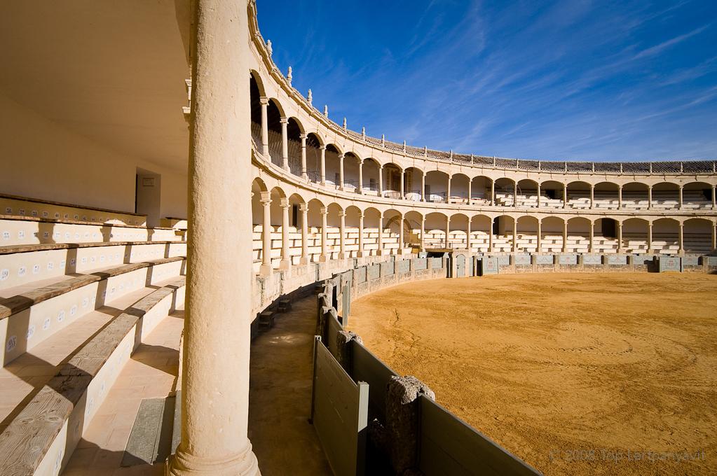 The Plaza de Toros in Ronda