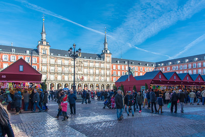 Plaza Mayor Christmas Market