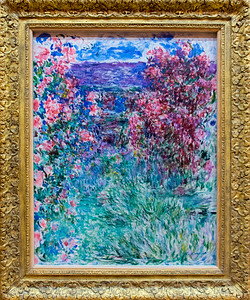 Monet: The House among the Roses