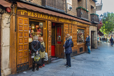 One of the oldest continuously operating restaurants in Madrid