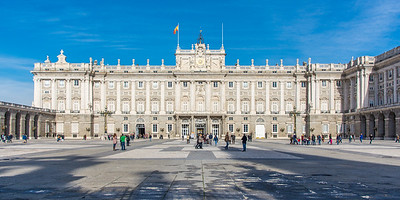 The Royal Palace of Madrid. Spain's version of Versailles.
