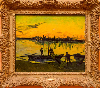 Van Gogh: The Stevedores in Arles