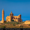 Southern Europe - Malta - Island of Gozo - Għawdex - Isle of Calypso - Small island of the Maltese archipelago in the Mediterranean Sea - Ta' Pinu Basilica - National Shrine of the Blessed Virgin of Ta' Pinu - Roman Catholic parish church and minor basilica where miracles have been observed
