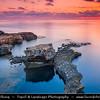 Southern Europe - Malta - Island of Gozo - Għawdex - Isle of Calypso - Small island of the Maltese archipelago in the Mediterranean Sea - Rocky Coastal Area around Azure Window - Tieqa Żerqa