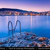 Southern Europe - Malta - Island of Gozo - Għawdex - Isle of Calypso - Small island of the Maltese archipelago in the Mediterranean Sea - Marsaskala - Marsascala - Xwejni Bay - Marsalforn - Fishing village & popular sea resort