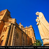 Southern Europe - Malta - Island of Gozo - Għawdex - Isle of Calypso - Small island of the Maltese archipelago in the Mediterranean Sea - Ta' Pinu Basilica - National Shrine of the Blessed Virgin of Ta' Pinu - Roman Catholic parish church and minor basilica where miracles have been observed