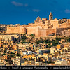 Southern Europe - Malta - Island of Gozo - Għawdex - Isle of Calypso - Small island of the Maltese archipelago in the Mediterranean Sea - Victoria - Città Victoria - Capital of Gozo - Rabat - Citadella (Citadel)