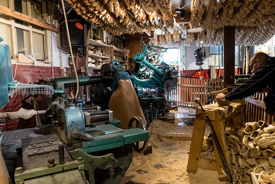 Workshop at the Wooden Shoe Factory