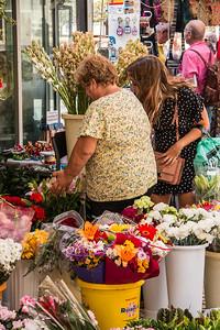 Flower Market, Plaza Topete