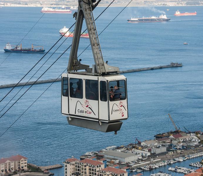 Cable Car<br /> Gibraltar