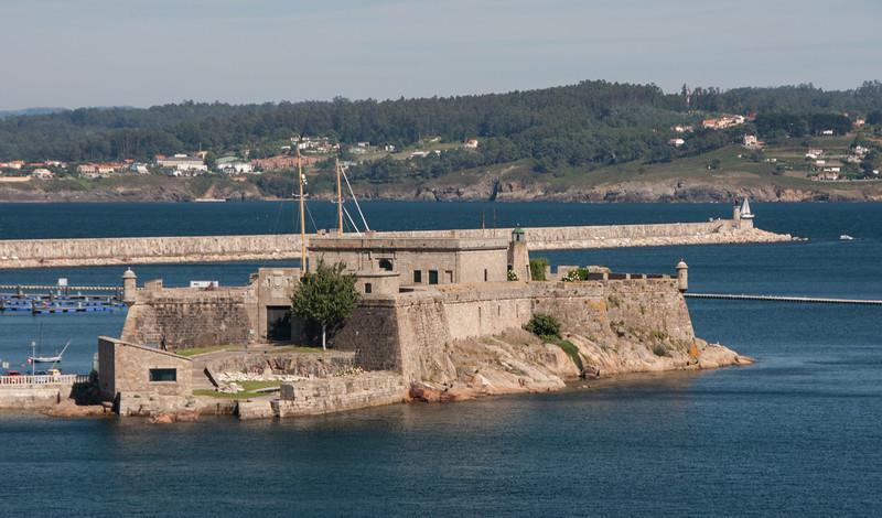 Castillo de San Anton<br /> La Coruna